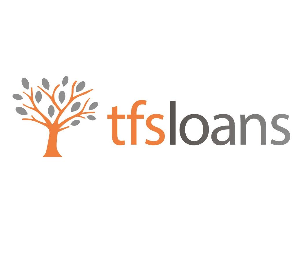 TFS Loans logo in a white background