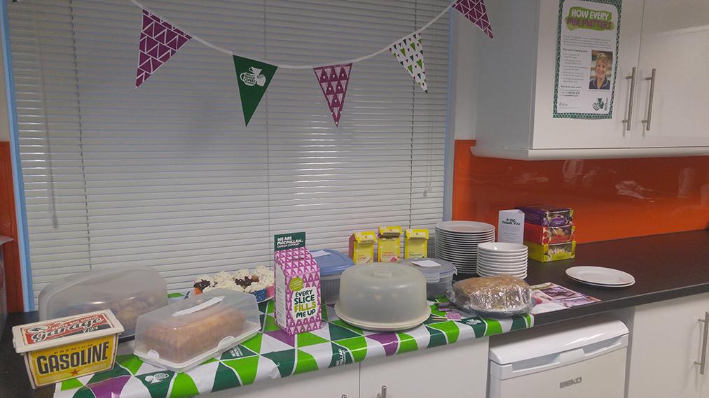 Macmillan Cancer Support feast