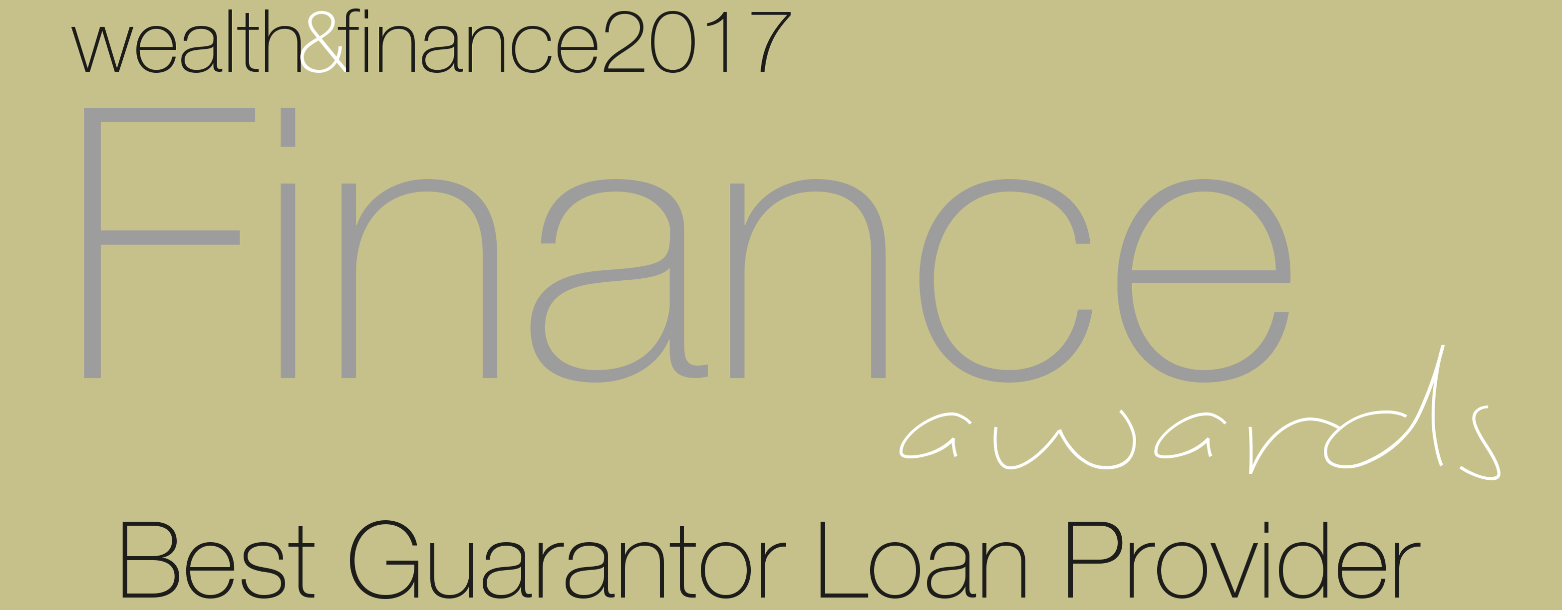 wealth and finance 2017 Finance Awards - Best Guarantor Loan Provider