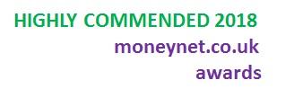 MoneyNet Awards - Highly Commended 2018 Award