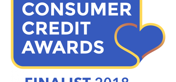 Consumer Credit Awards - Finalist 2018