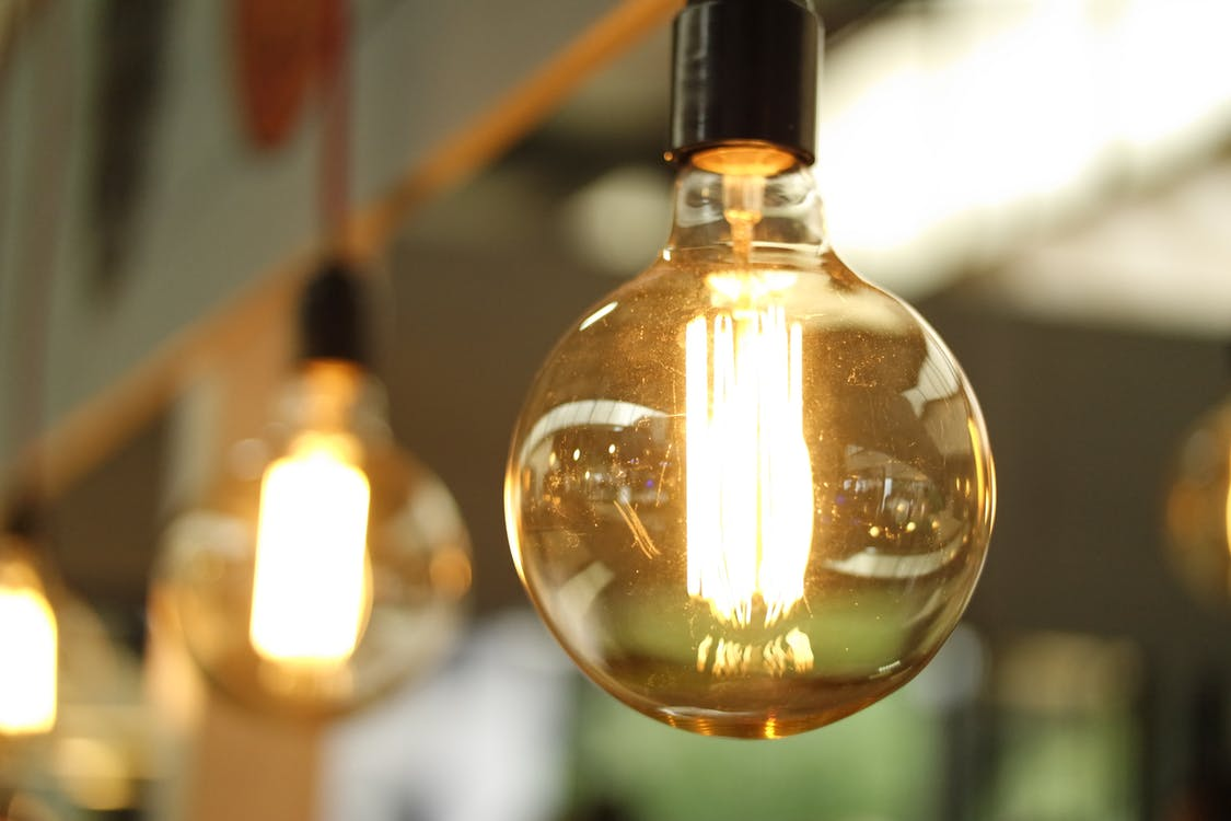Energy Saving Tips To Save Money This Winter Tfs Loans An Incandescent Light Fixture Is Relatively Simple Requiring Only A