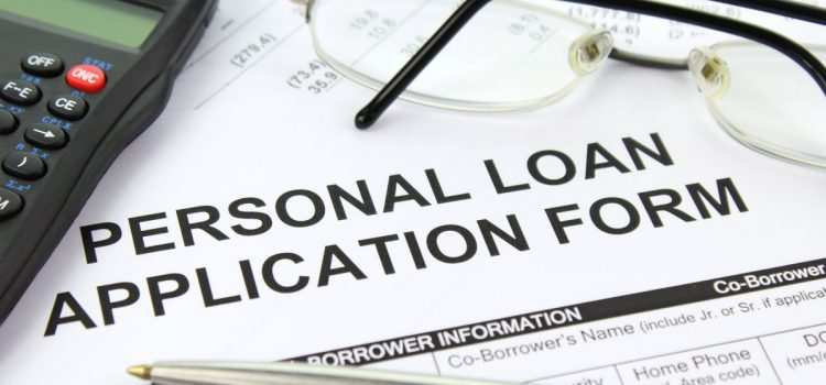 Personal Loan Application Form Image